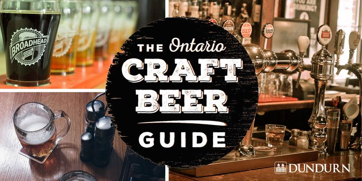 Forget wine tours, Ontario has over a thousand breweries to explore.   https://www.dundurn.com/books/ontario-craft-beer-guide