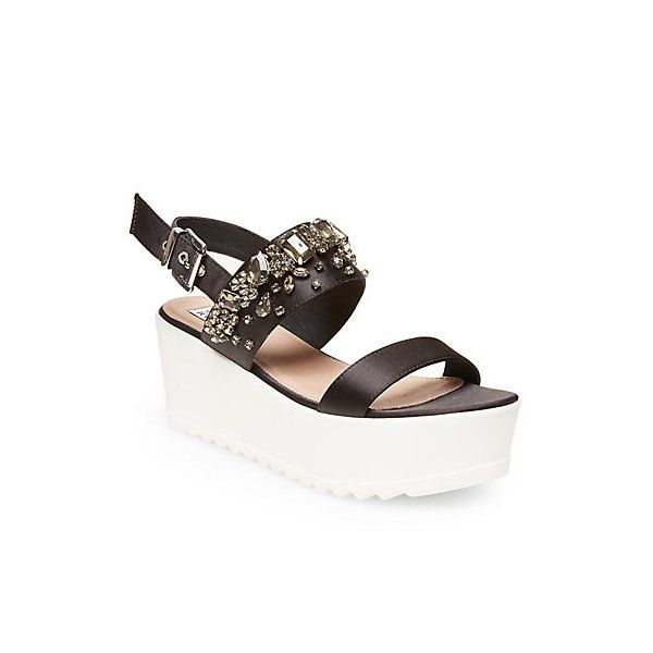 Steve Madden by Iggy Azalea Ono Bling Flatform Wedge Sandals - Sandals -  Shoes - Macy's