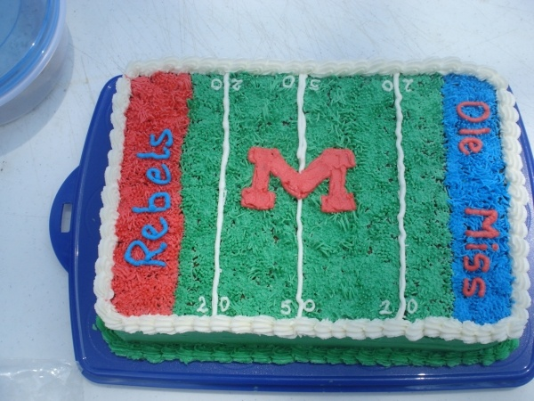 Ole Miss Cake.