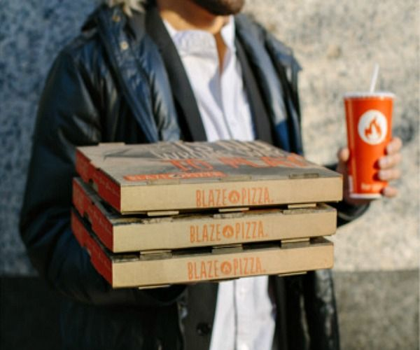 Earn your way to a FREE pizza when you download the Blaze Pizza app. Plus, receive a free drink just for downloading.