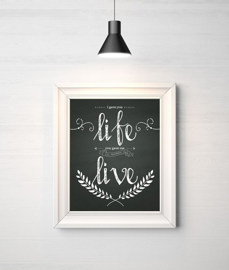 'Life/Live' Print. Nursery print. Baby print. Nursery decor. Kids room. Kids room decor. Kids print. Wall Art.