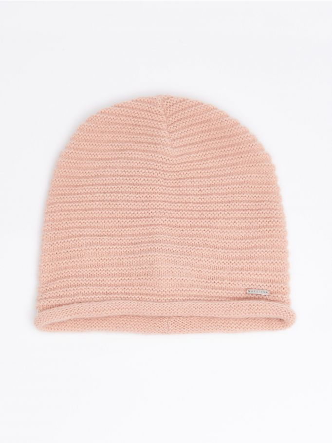 Striped textured hat, MOHITO