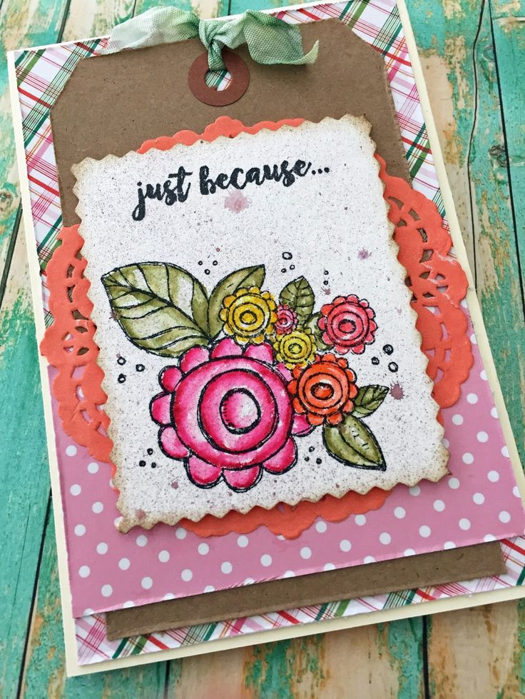 Unity Stamp/Blossomy Condolences by Jeannie T. of Dragonfly Journeys