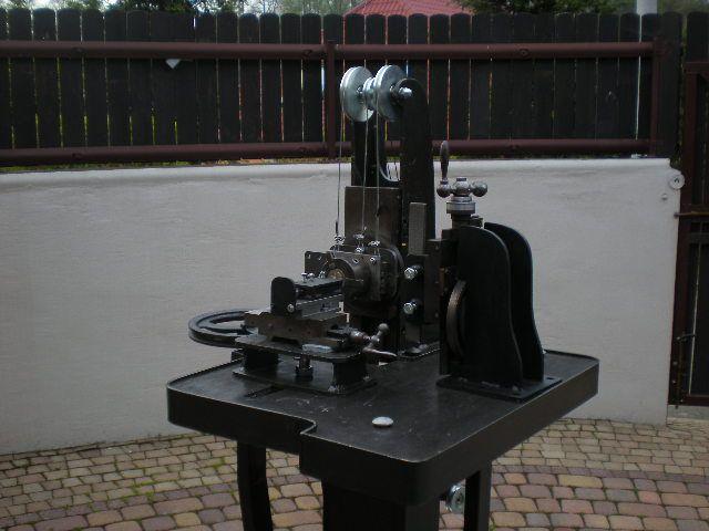 Straight line guilosche.Rose engine turning. Made by Leszek Kralka