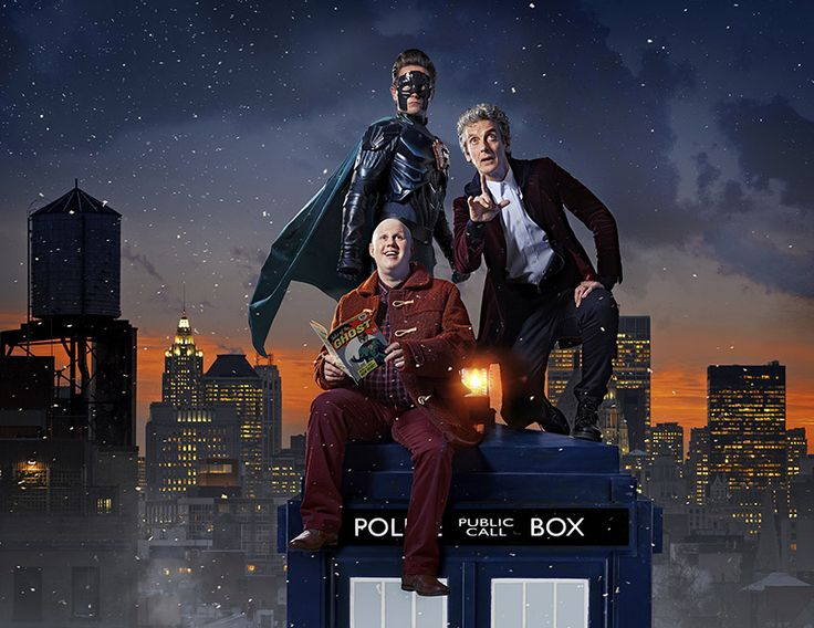 Brand new teaser image from #DoctorWho Christmas Special 2016!