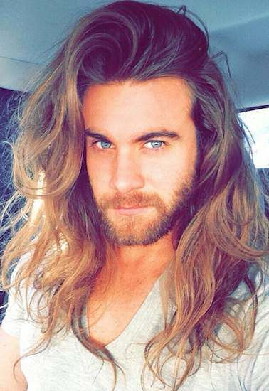 Brock O'Hurn: Real life Prince Adam/Beast from Beauty and the Beast and seems to be a super nice guy.