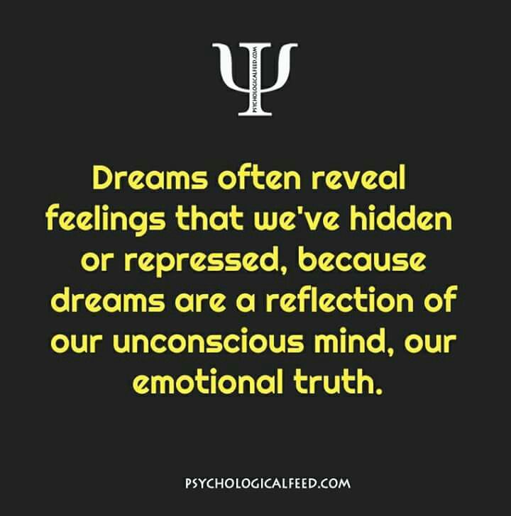 dreams often reveal feelings that we've hidden or repressed, because dreams are a reflection of our unconscious mind, our emotional truth.