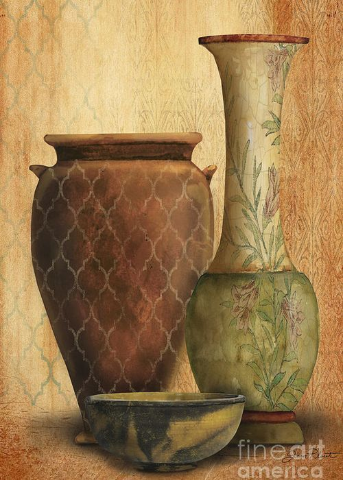 Still Life-I Greeting Card by Jean Plout
