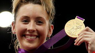 Jade Jones claimed Britain's first Olympic taekwondo gold medal and the hosts' 25th of the London Games.