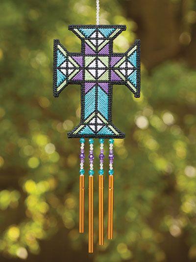 235 Best Plastic Canvas Crosses Images On Pinterest