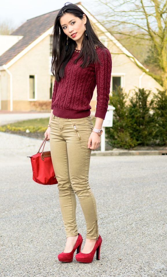 Outfit: Lady in Red - http://www.thebeautymusthaves.com/2013/04/outfit-lady-in-red.html