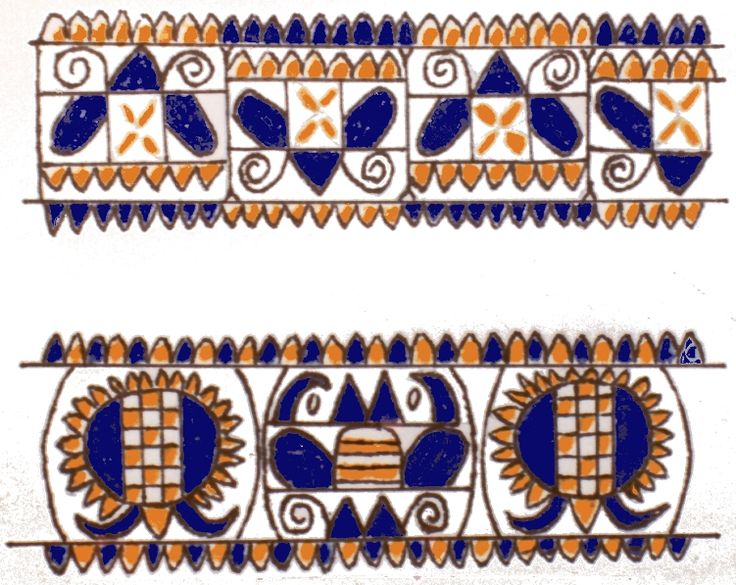 Pattern from Puchovo, Slovakia