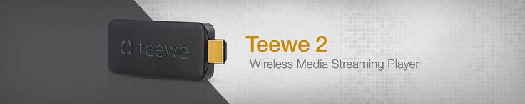 Teewe 2 Wireless Media Streaming Player - http://www.grabbestoffers.com/coupon/teewe-2-wireless-media-streaming-player/