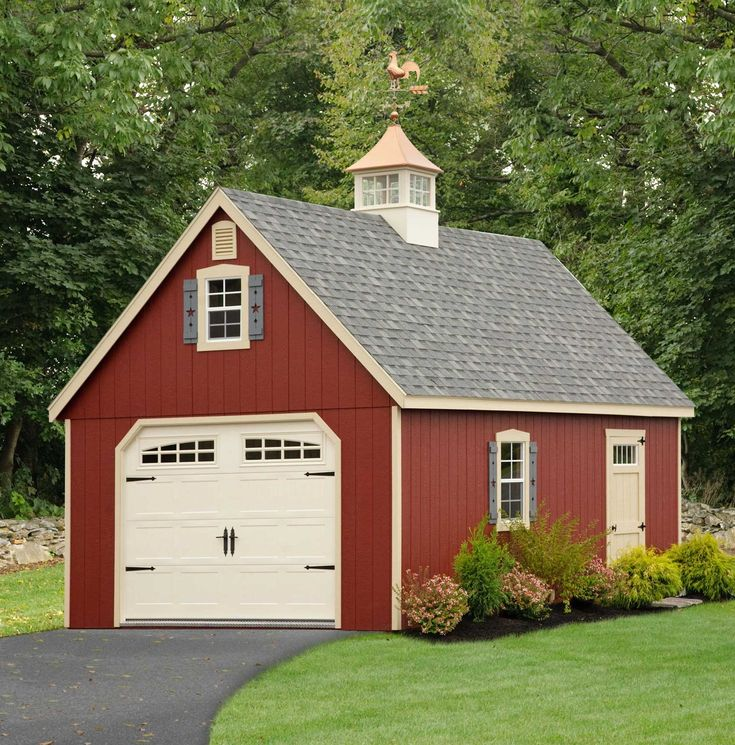Delightful Garage Cupola #5: We Couldnu0027t Resist Adding A Copper-topped Cupola From Royal Crowne Outdoor  Accents To The Garage Of Our 2016 Idea House. Ours Will Feature A Finial,  ...