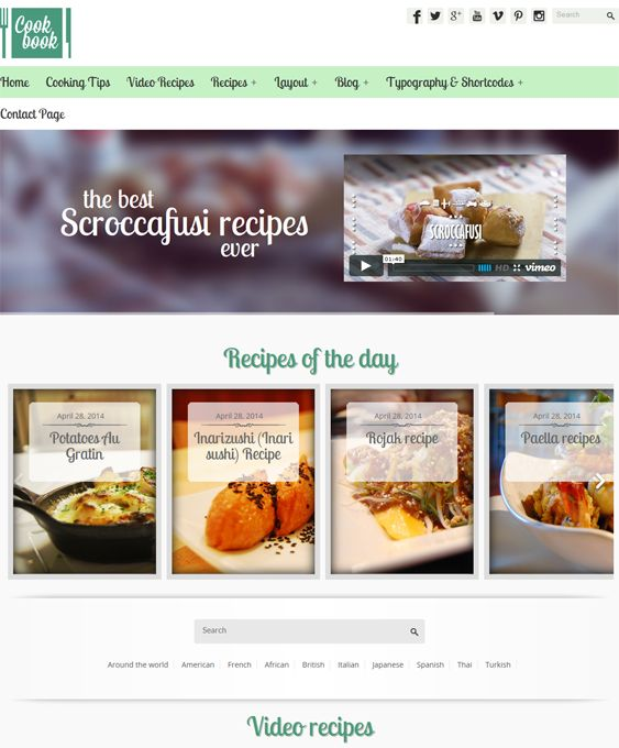12 best 12 more of the best wordpress themes for recipe food 10 of the best wordpress themes for recipe food websites forumfinder Gallery
