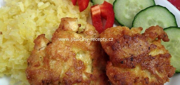 Sýrovo- kuřecí placičky