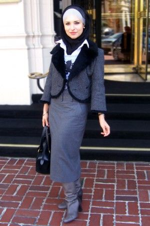 Hijab for work