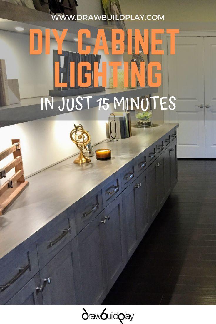 Diy Under Cabinet Lighting Kitchen Under Cabinet Lighting Under Cabinet Lighting Cabinet Lighting