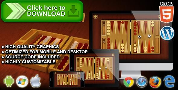 [ThemeForest]Free nulled download Classic Backgammon - HTML5 Board Game from http://zippyfile.download/f.php?id=40456 Tags: ecommerce, board game, checkers, chess, classic game, dice game, logic game, multiplayer, nard game, race game, skill game, strategy game, table game, tactic game, two player, wordpress