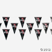 Pennant to decorate porch area?