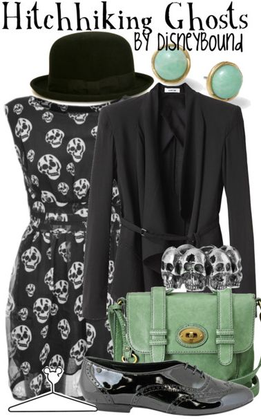 disney world | Disney BoundHitchhikers Ghosts, Disney World, Disney Bound Outfit, The Haunted Mansion, Disney Clothing, Haunted Mansions, Disney Inspiration Outfit, Disneybound, Disney Dresses