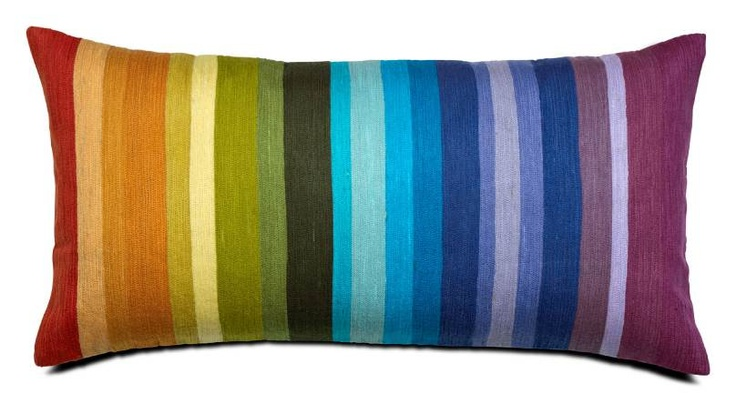 This pillow can give a very colorful mood to the room especially if i use the vases to decorate the room.pillow from bo concept