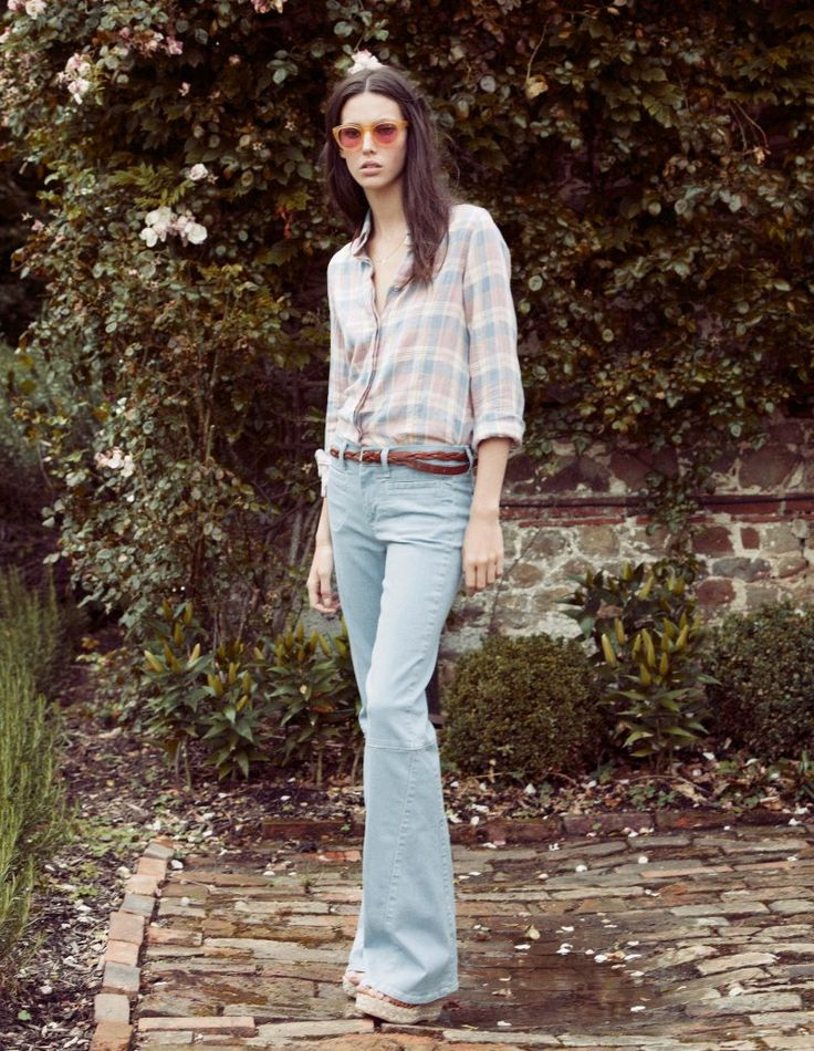 Ruby Aldridge for MiH Jeans Spring 2012 Collection | Fashion Gone Rogue: The Latest in Editorials and Campaigns