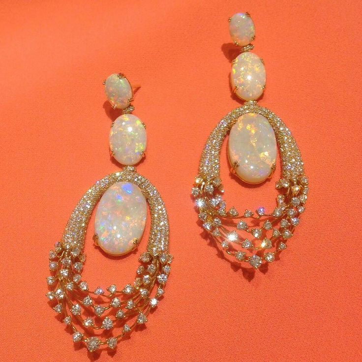 Obsessed with these opal earrings! Stunning ***