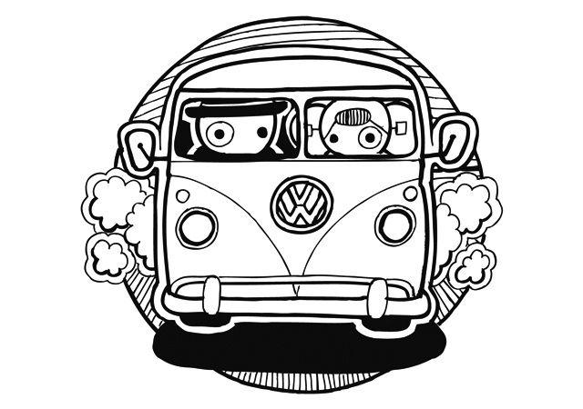 kaart LEUNTJE VW BUS