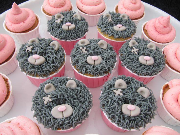 Tatty teddy bear cupcakes