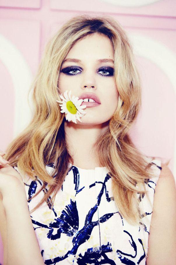 awesome Georgia May Jagger por Ellen Von Unwerth para Vogue Rússia Janeiro 2015  [Editorial]
