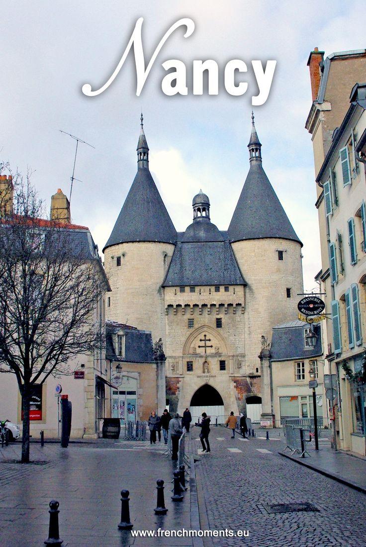 Porte de la Craffe in the old town of Nancy, Lorraine. // La Porte de la Craffe dans la vieille-ville de Nancy en Lorraine. #Nancy #Lorraine #France