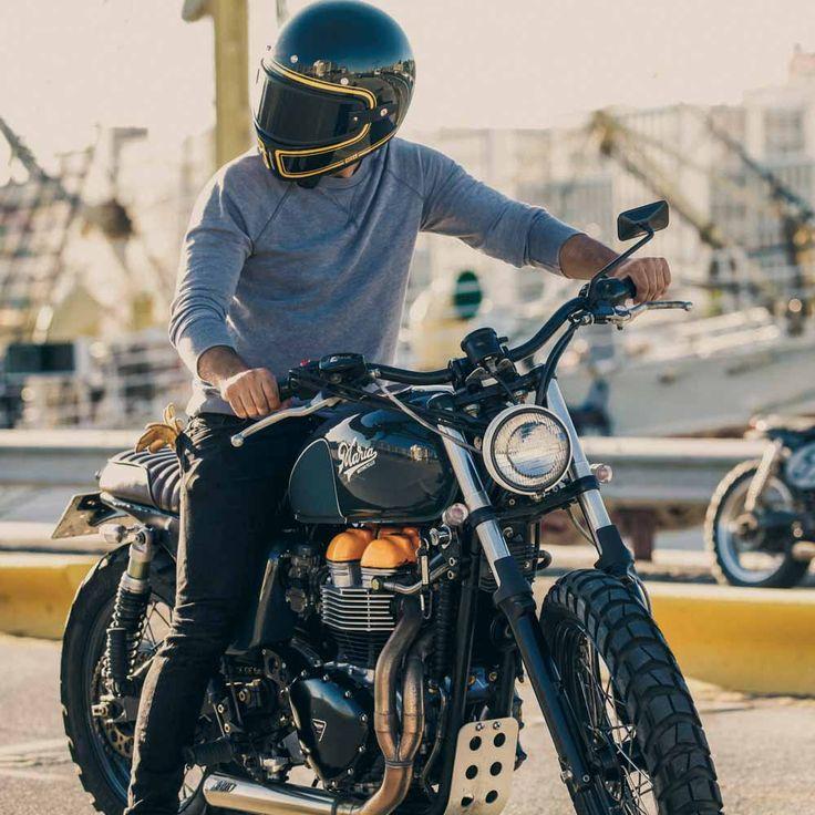 Nexx XG100 Devon Helmet - Black Full - The Cafe Racer