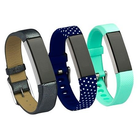 Smart Buddies Fitbit Alta 3 Pack Fashion Bands : Target