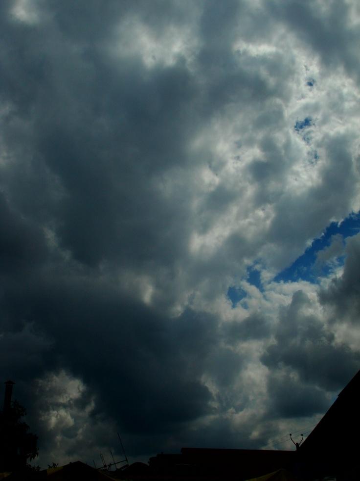 El cielo desde mi jardin