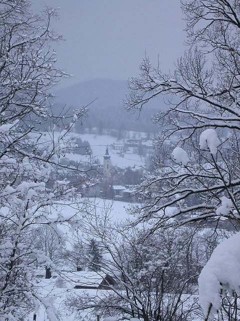 Für alle, die sich auch fragen, wo denn der Winter bleibt: Aussicht vom Schliersberg in den bayerischen Winter. #winter in #Bavaria http://www.bayern.by/bilderbuchwinter