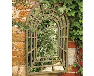 Decorative Garden Perspective Mirror