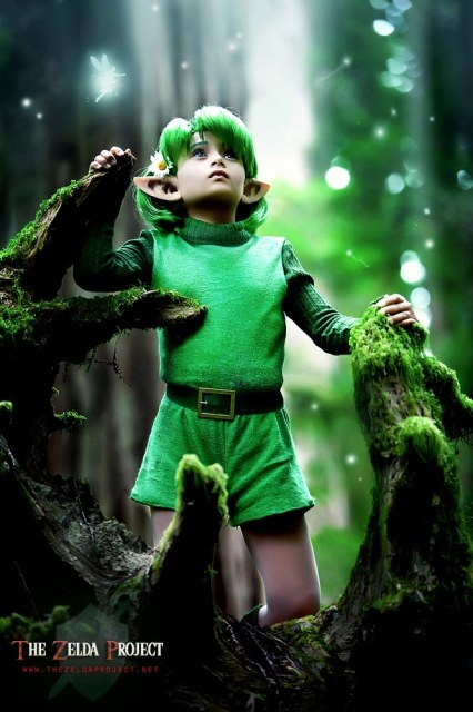and this is the REAL LIFE Saria.  so perfect. Zelda OOT