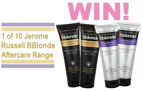 Win 1 of 10 Aftercare Range From Jerome Russell BBlonde