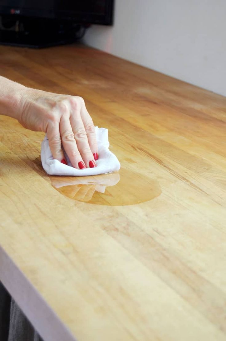 A Complete Guide To How To Maintain And Oil Your Butcher Block Countertops  Including How Often