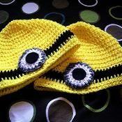 Despicable Me Minion Beanie Hat - via @Craftsy