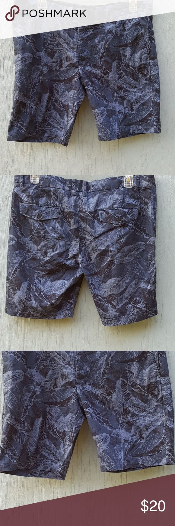 H&M shorts H&M guys shorts. In size 38R. Length of shorts from waist to hem measures approximately 20 in. Inseam of shorts measures approximately 10 in. H&M Shorts