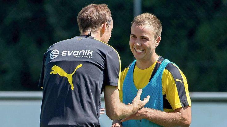 Interview-Premiere als Dortmund-Star   Götze freut sich auf 1. Sieg gegen Bayern - Bundesliga Saison 2016/17 - Bild.de