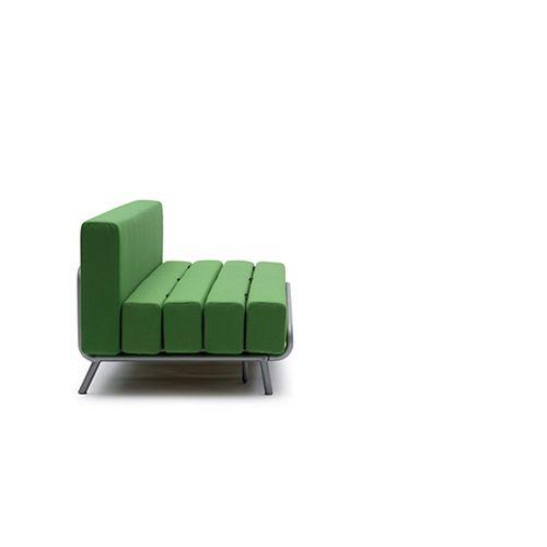Divano letto trasformabile SLASH - Adrien Rovero | Divani e divani letto Campeggi s.r.l.