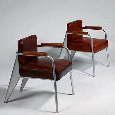 Office Armchair (Jean Prouve) 1953