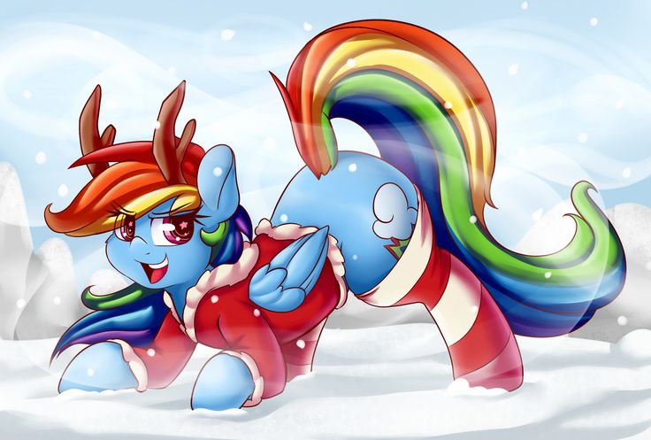 Rainbow the blue nosed pegasus