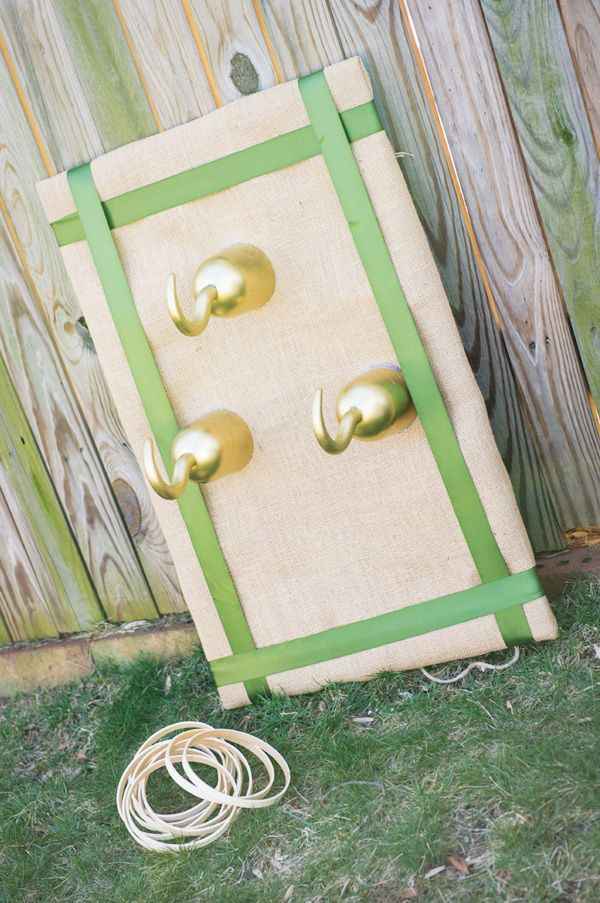 AMAZING Peter Pan Party {+ Kids Costumes}- the hook ring toss