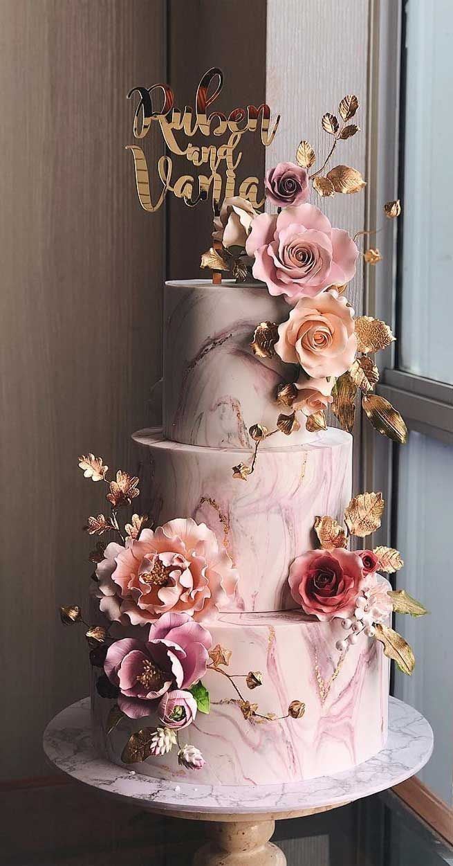 79 Wedding Cakes That Are Really Pretty Cool Wedding Cakes