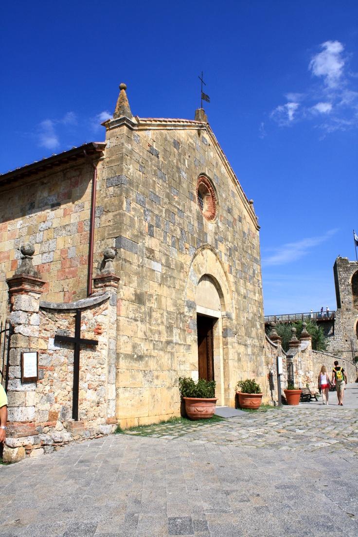 Monteriggioni, province of Siena , Tuscany region, Italy