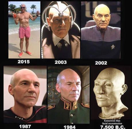 Patrick Stewart is ageless.